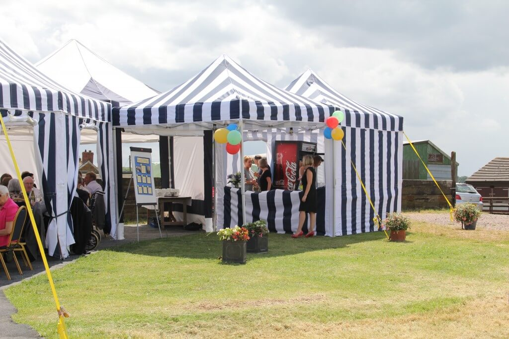 interlocking tents for hire for parties