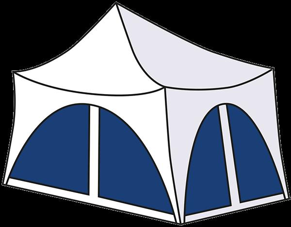 square capri tent for hire